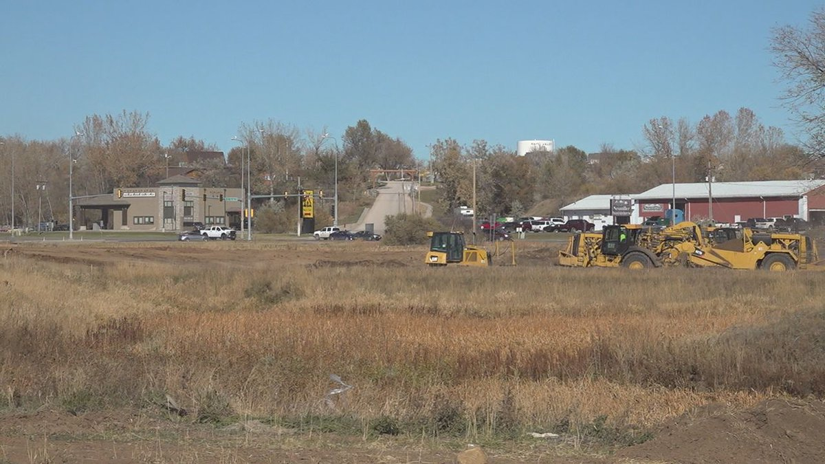 New housing and commercial going up in Rapid City.