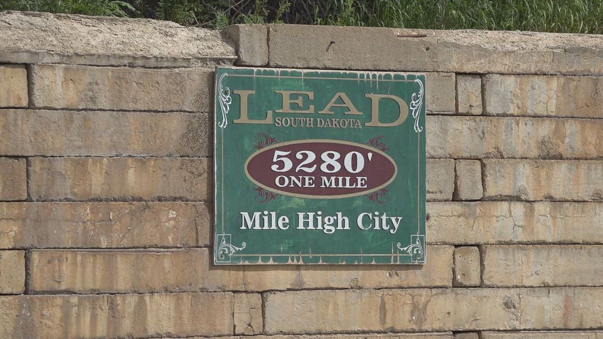 The sales tax collection came in on the high side for Lead in July.