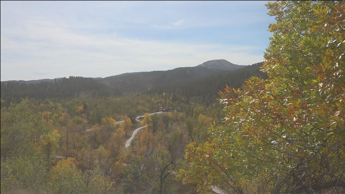 The colors are changing across the landscape.