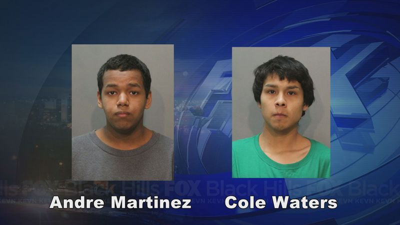 Andre Martinez and Cole Waters were sentenced to 75 years in prison for the shooting death of...