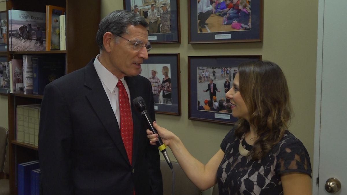 Sen. John Barrasso (R-WY) talked about his experiences on a special Thanksgiving trip overseas. (Source: GrayDC)