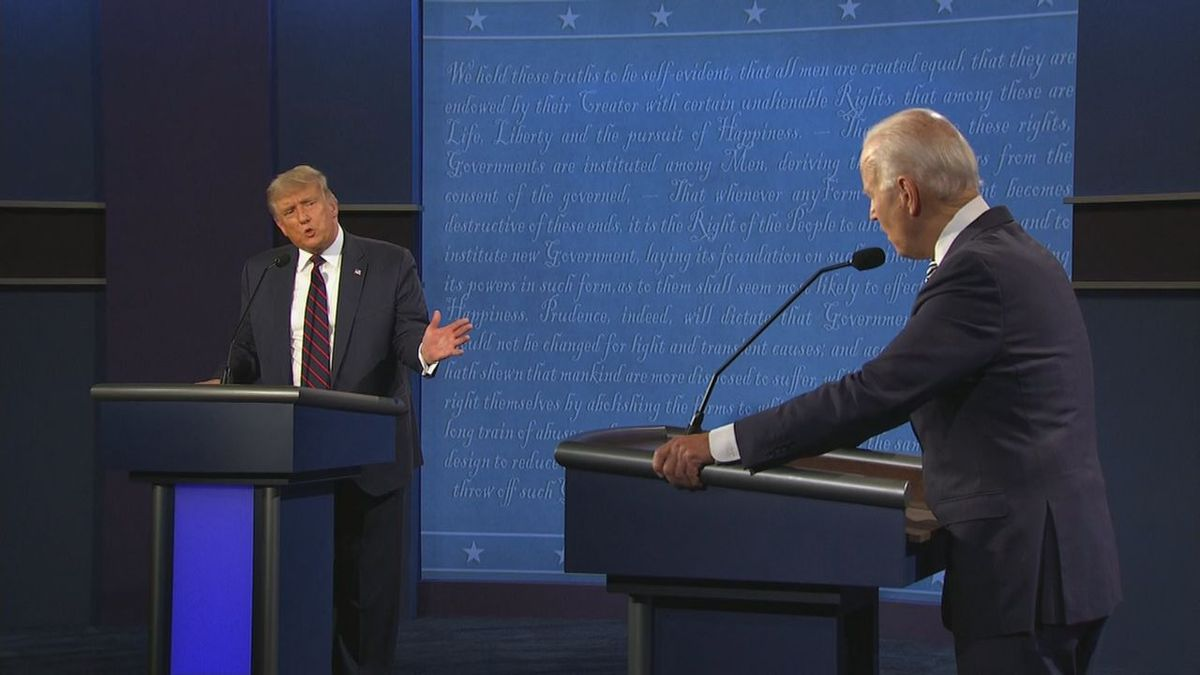 Tuesday night's presidential debate received mixed reviews